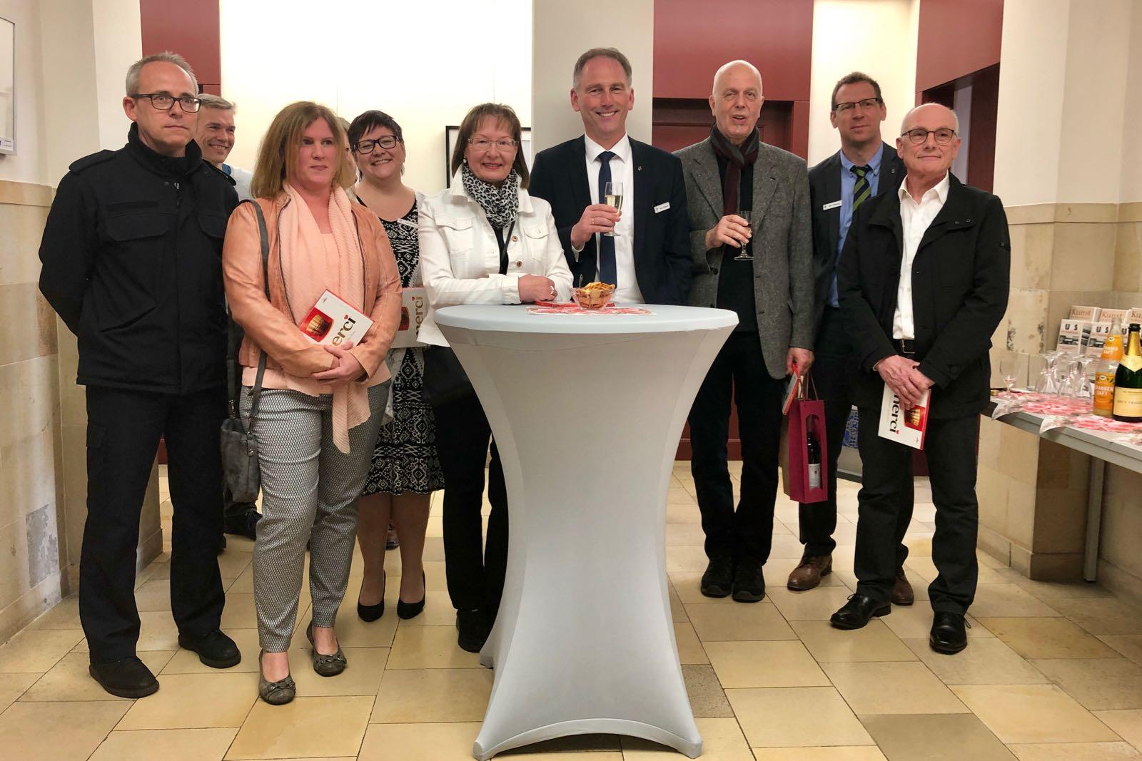 Vernissage der Pixel-AG im Kreishaus
