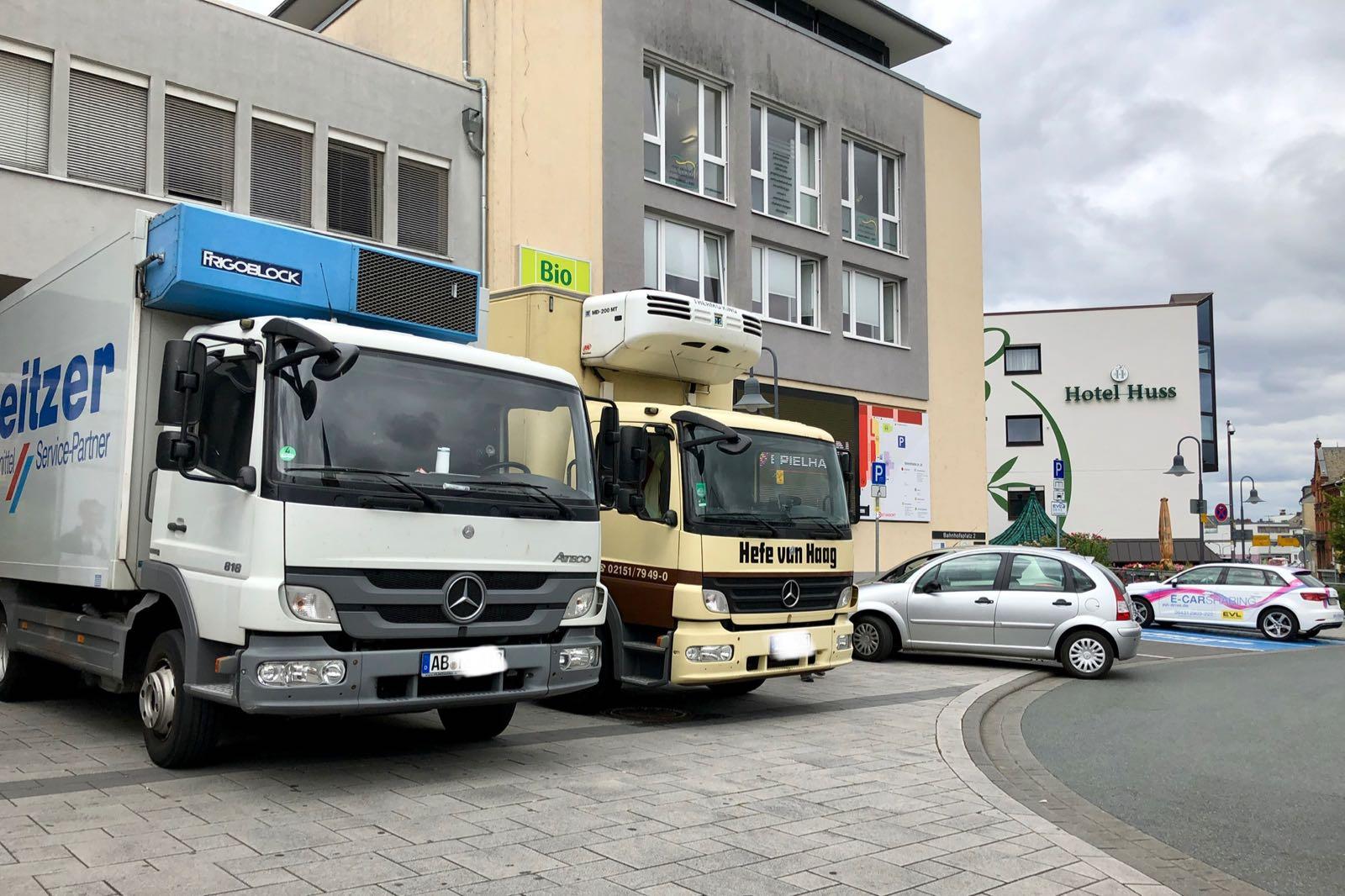 Einfahrt Posthof / WERKStadt