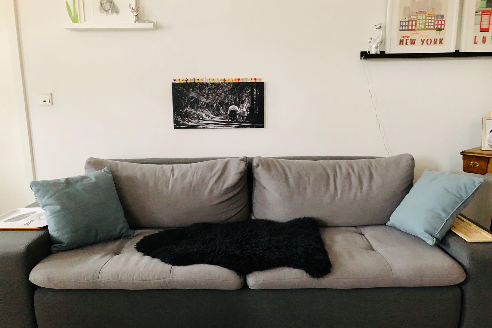 Kein rotes Sofa
