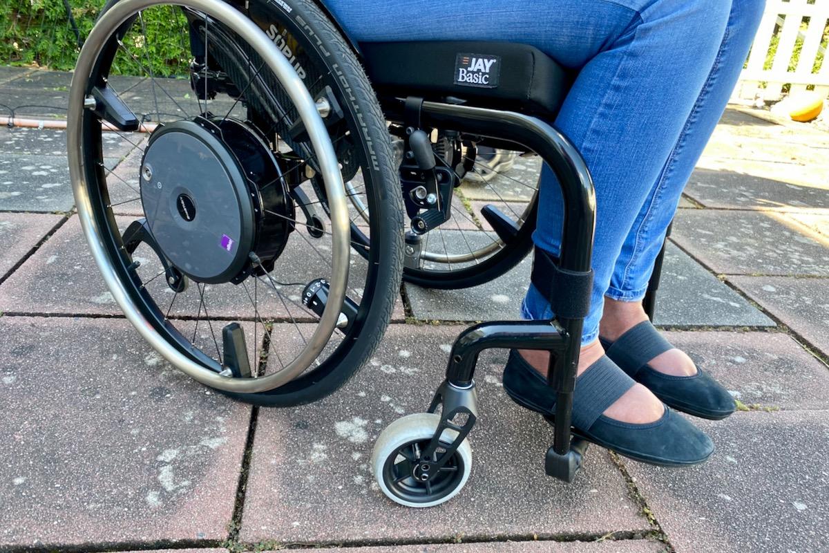 Seilspringen für Rollstuhlfahrer?