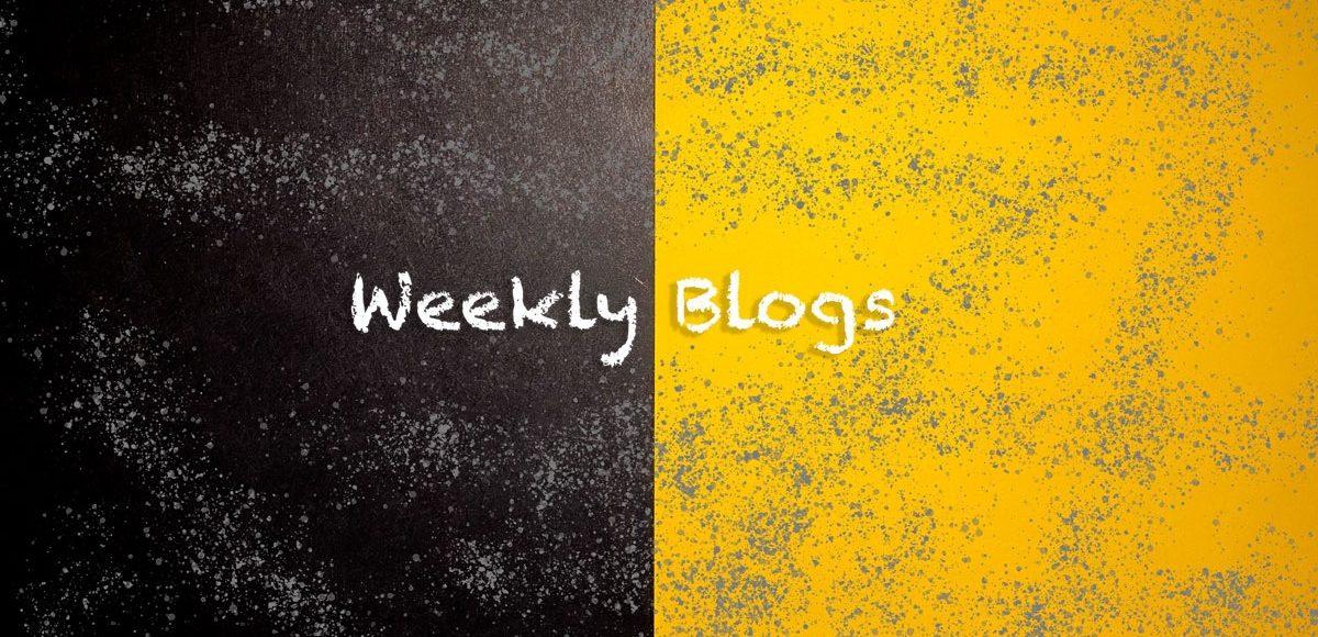 2021 - Weekly Blogs