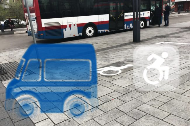 Sicherer Parkraum am Bahnhofsvorplatz