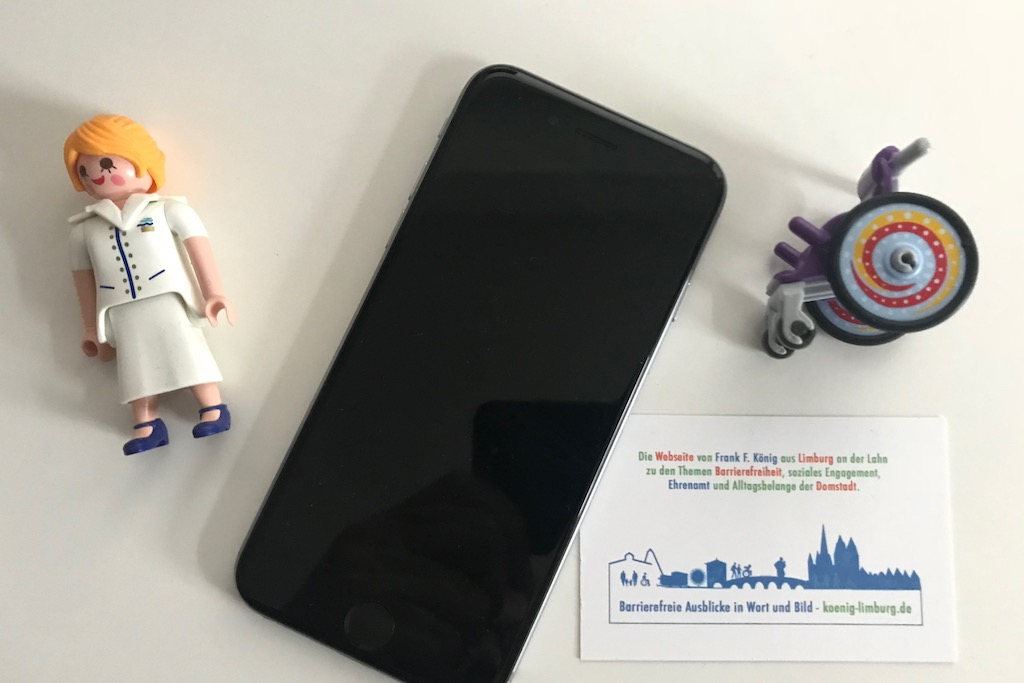Smartphone das Hilfsmittel