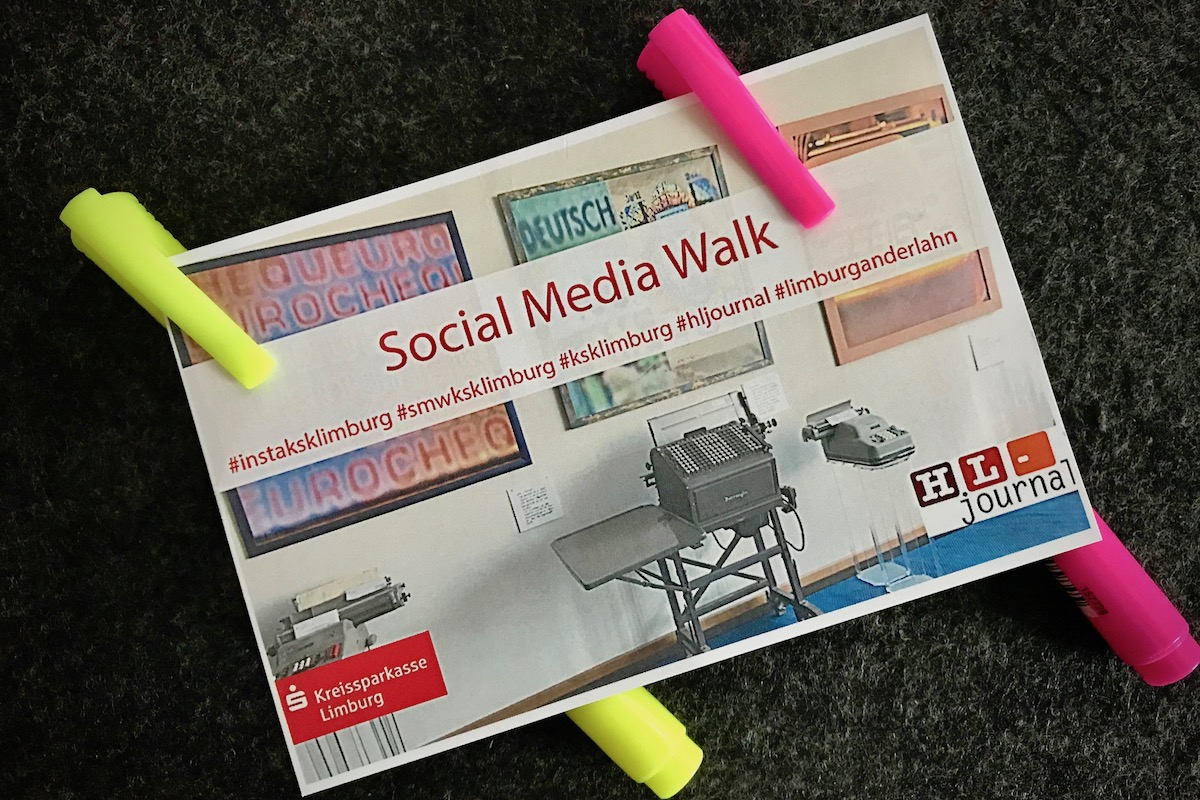 1.Social Media Walk der KSK-Limburg