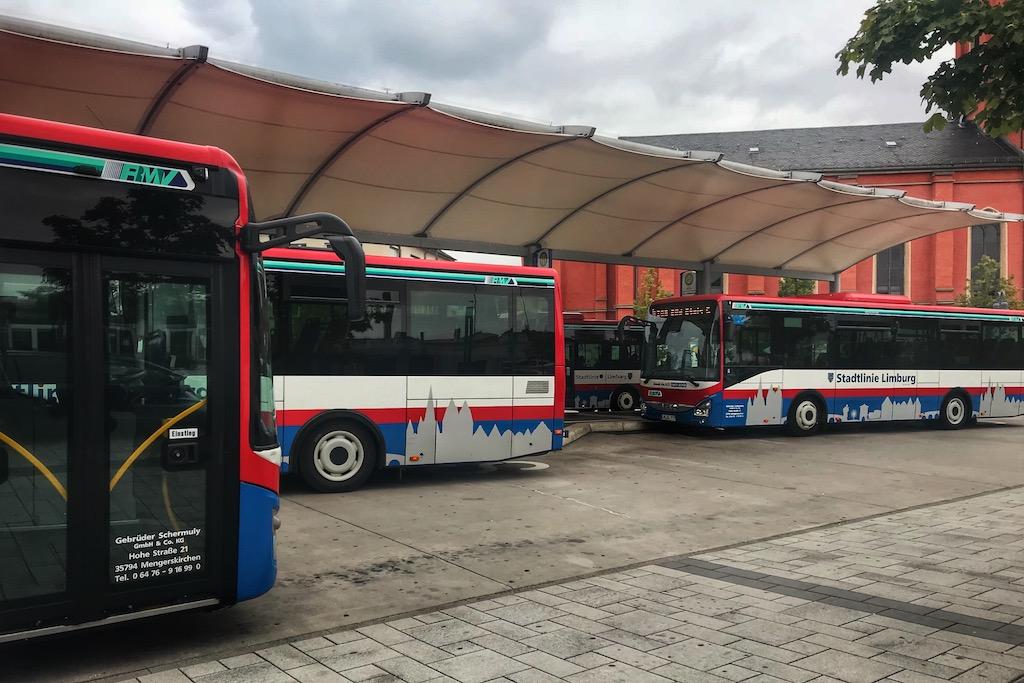Beförderung durch die Stadtlinie Limburg