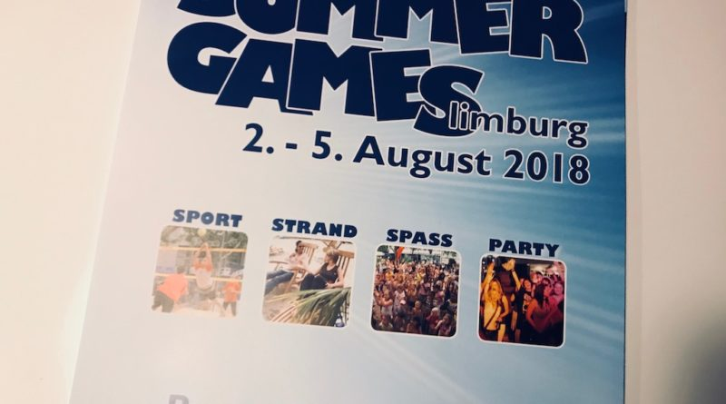 PK zu den Summer Games 2018