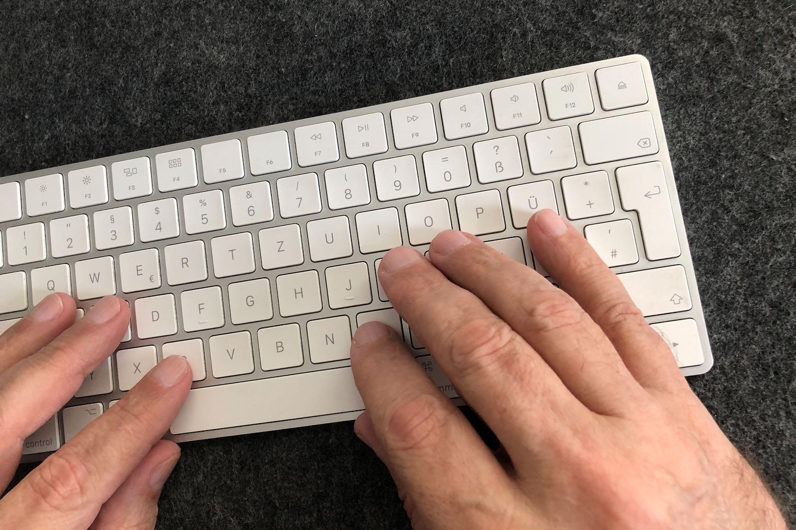Einfach mal Schreiben?