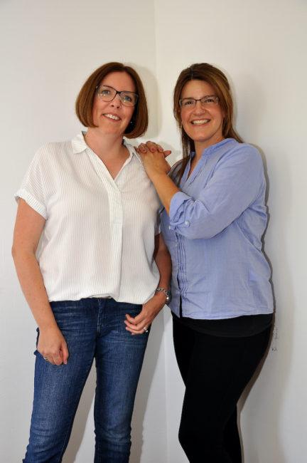 Annette Eckhardt und Daniela Ewerth