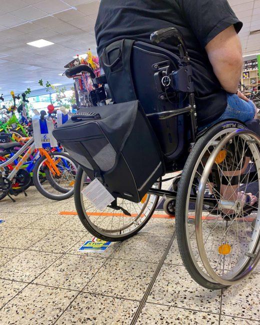 Bag / Rucksack für den Rollstuhl