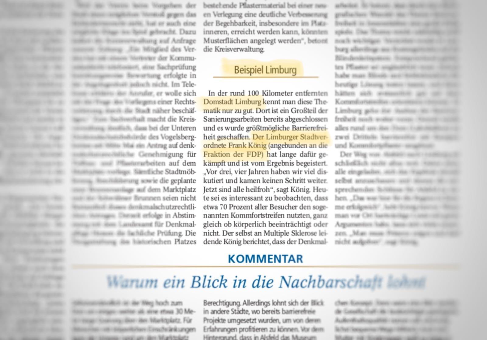 Textauszug: Verlagsgesellschaft Vogelsberg