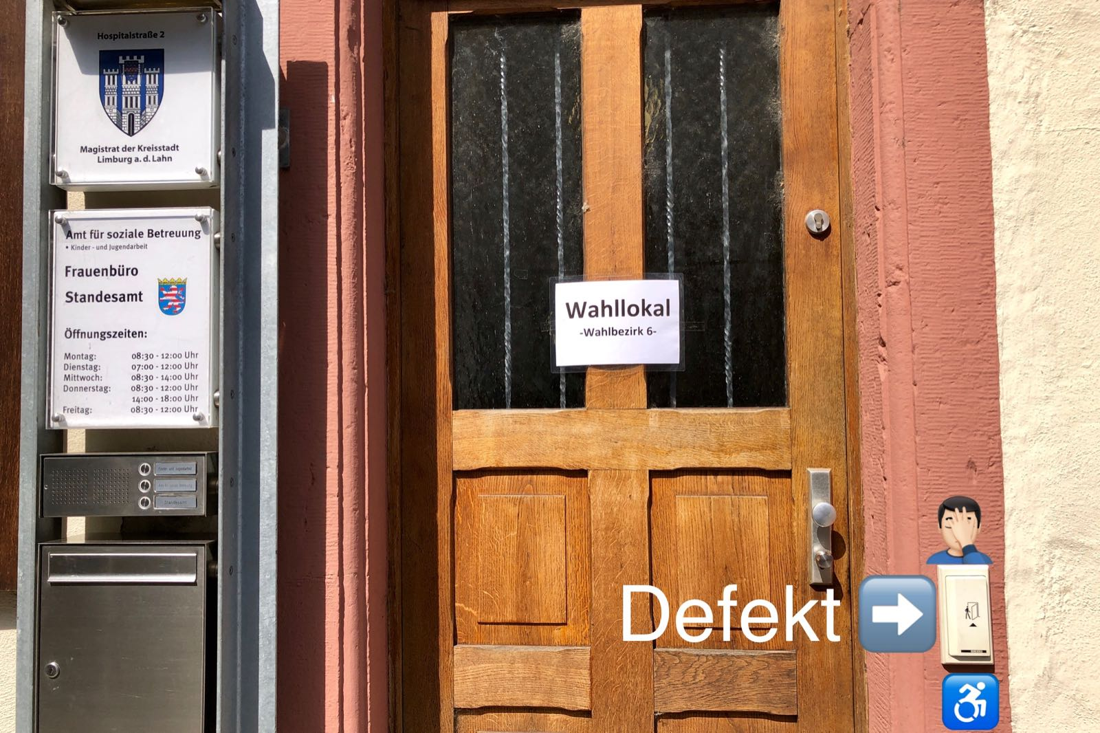 Barrierefrei Wählen in Limburg