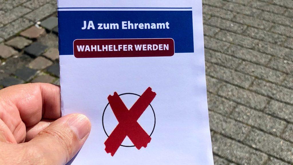 Wahlhelfer Ehrenamt