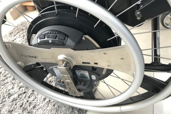 Zusatzantrieb für manuelle Rollstühle