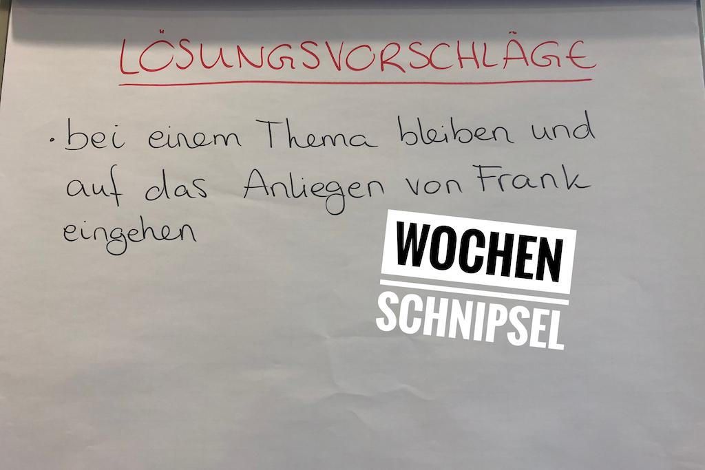 Wochen Schnipsel 38. KW 2018