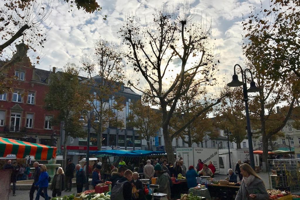 Barrierefreie Wochen-, Sonder- und Weihnachtsmärkte