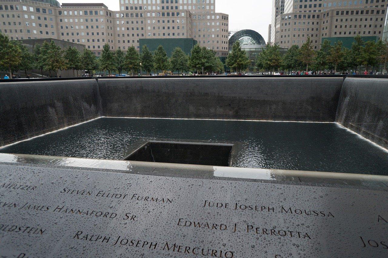 9/11 Memorial am Ground Zero in New York
