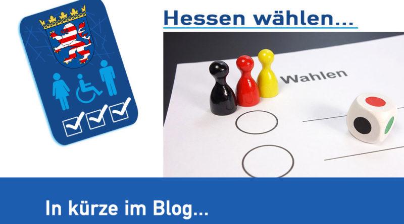 """""""Hessen wählen am 28. Oktober 2018"""""""