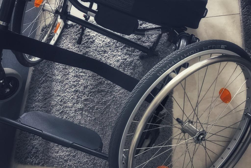 Ich habe ein Rad ab?