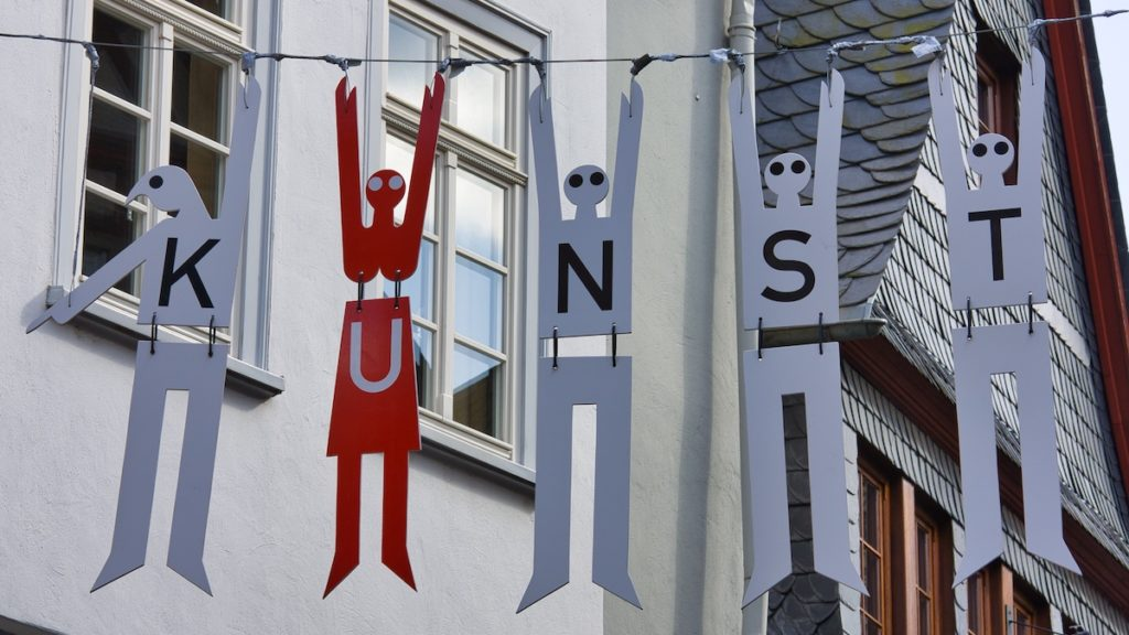 Neue Fotoserie – Typografie im Stadtgebiet